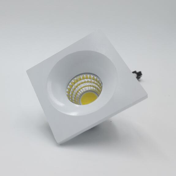 Hot sale 5W cob led downlights dimmable led down light indoor lighting Exhibition display lamp AC110 240v warm cold white in Downlights from Lights Lighting