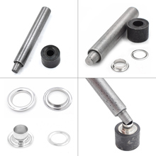 hot deal buy hand tools knock eyelets. hand pressing button machine.prong snaps mold. button installation tool. 4mm/5mm/6mm/8mm/10mm-22mm