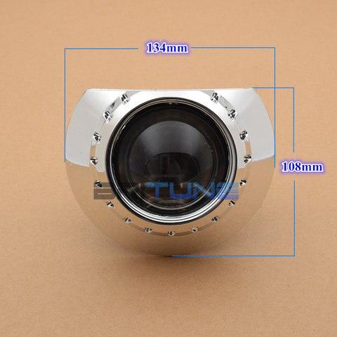 lentes de farol h7 para bmw e46