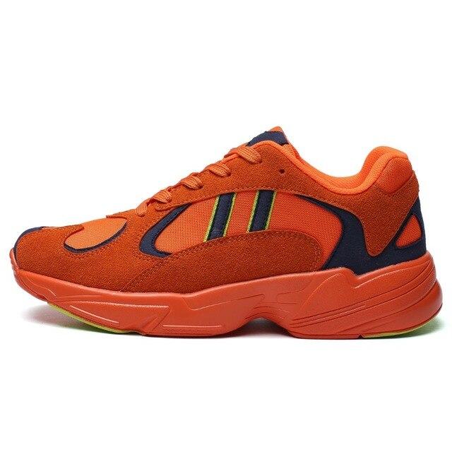 Спортивная унисекс дышащие женские кроссовки Для мужчин спортивные кроссовки Лидер продаж Модные уличные беговые кроссовки размеры 39–44