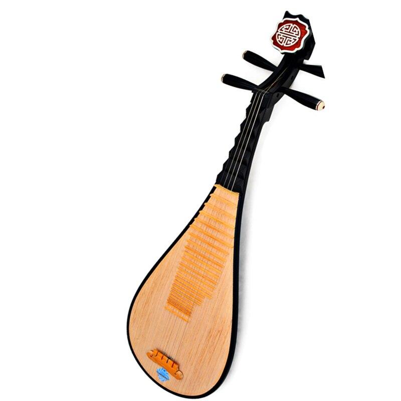 Luth chinois Pipa Chaîne Nationale Instrument de Musique Pi pa célèbre marque Adulte jouant pipa bois dur avec plein Pipa accessoires