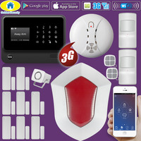 Golden Security DIY Kit G90B Plus 3G GSM WIFI Russian Spanish English Dutch Freench APP Control
