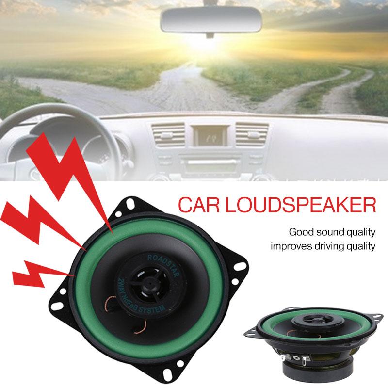 Vehemo 4 Inch Black Car Speaker Cars