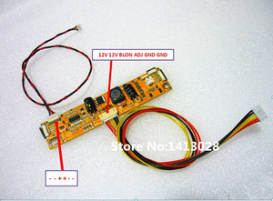 "Image 4 - Tv + Hdmi + Vga + Av + Usb + Audio Tv Lcd Driver Board 18.5 ""HM185WX1 400 1366*768 Lcd Controller Board Diy Kits"