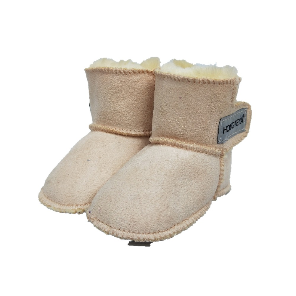 Winter Boot 2018 New arrive Baby Girl Newborn Shoes Baby Moccasins With Fur Soft Sole Baby Shoes Newborn Baby Kids Boys Boots