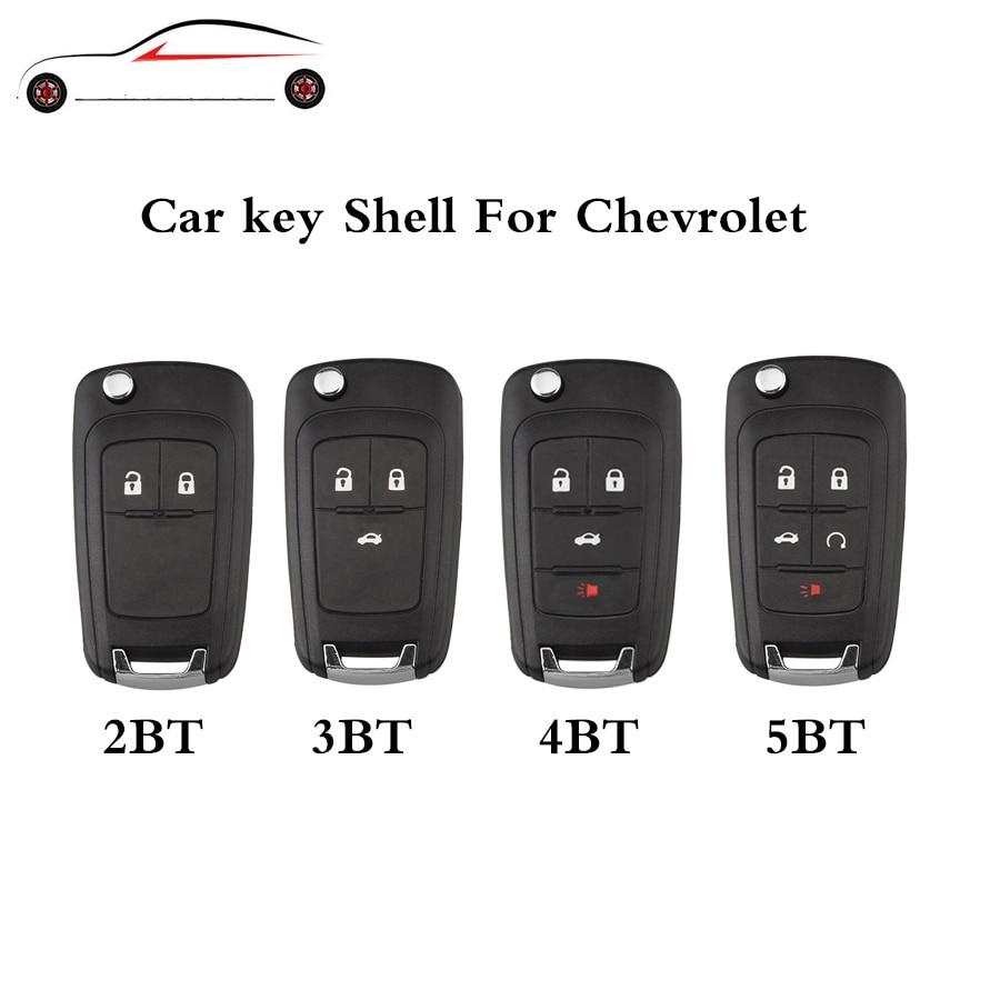 GORBIN 2/3/4/5 Button Remote Key Covers For Chevrolet Aveo Cruze Orlando 2009 2010 2012 2013 2014 2015 Original keys цены