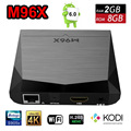M96X Android 6.0 Smart TV Caja 2G + 8G S905X Amlogic Quad Core Kodi 16.1 a Plena Carga 4 K Ultra HD Wifi IPTV Streaming de Medios jugador