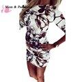 2017 Новое Лето Мода Повседневная Женщины Dress Половина Рукава Асимметричный Шеи Dress Оболочка Bodycon Dress Vestidos