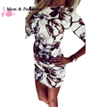 2017 New Summer Fashion Casual Women Dress Half Sleeve Asymmetrical Neck Dress Sheath Bodycon Dress Vestidos
