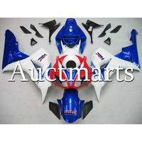 Complete Fairing Kit For 2006 2007 Honda CBR1000RR Injection Perfect Fit CBR 1000RR 06 07 Pearl White Blue Red ABS Cowlings
