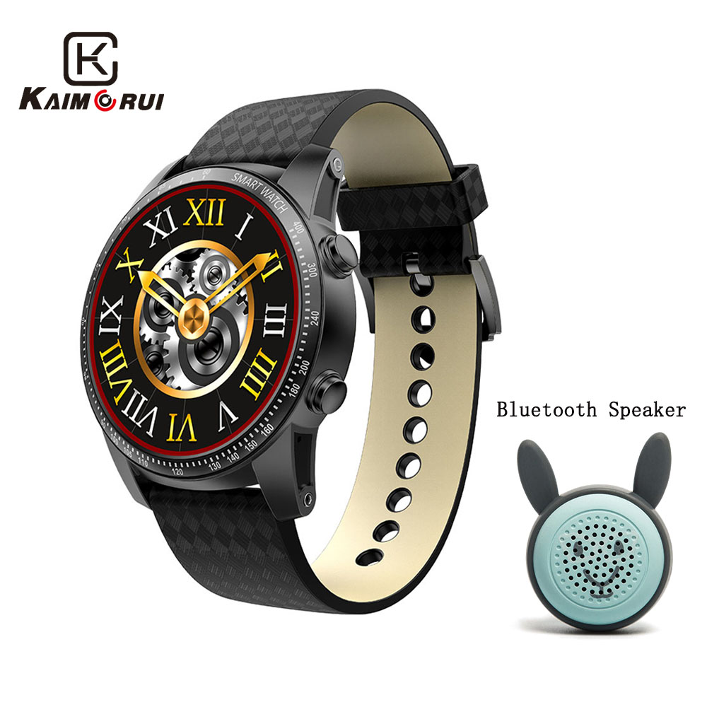 Kaimorui Smart Watch 3G Wifi Bluetooth Watch GPS Call Reminder Men Wristwatch with Bluetooth Speaker for Android IOS Watch PhoneKaimorui Smart Watch 3G Wifi Bluetooth Watch GPS Call Reminder Men Wristwatch with Bluetooth Speaker for Android IOS Watch Phone
