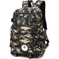 Tactical Backpack Men Preppy Style Camo School Backpacks For Boy Girl Teenagers High School Middle School