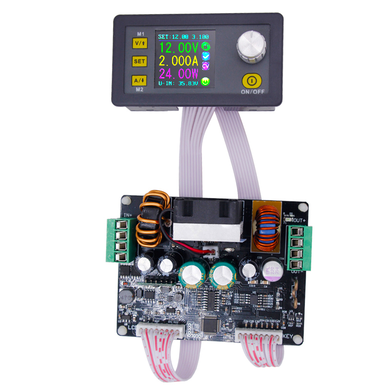 control Power Supply Buck-boost converter Constant Voltage current DPH3205 Programmable color LCD voltmeter ammeter 160W 21% rd digital step down power supply programmable constant voltage current power source module voltmeter ammeter buck converter