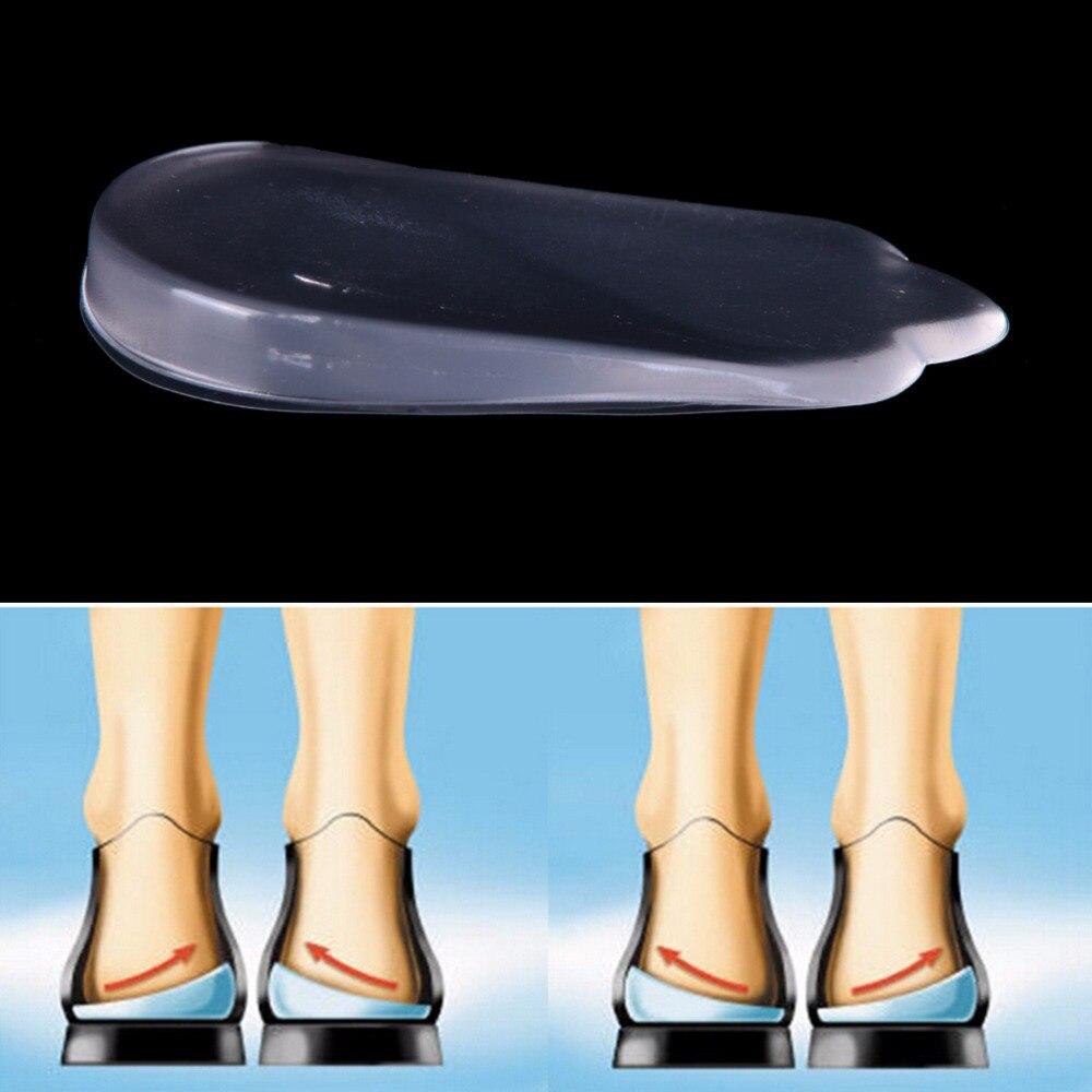 1 Paar Frau Füße Pflege Orthopädische Einlegesohlen Corrector Für Schuhe Silikon Unterstützung Pad Für High Heels Flache Füße Orthesen Mild And Mellow
