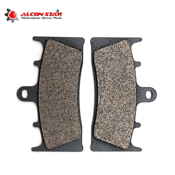 Alconstar-plaquettes de freins de moto, avant, pour Kawasaki ZX6R 98-01 ZX7R P1-P8 96-03, Suzuki GSXR750 94-95 GSXR1000 01-02 GSX1300 99-07