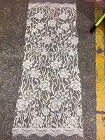 5 jardów HL321 nowoczesny nr 9 kolor strony wydruku klejone glitter oczka koronki tkaniny na sukni ślubnej/evening dress/partii, dhl