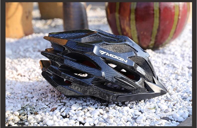 Promend велосипедный шлем mtb и дорожный Сверхлегкий 220 г защитные велосипедные шлемы горный велосипед шлем для мужчин 57 62 см - 5