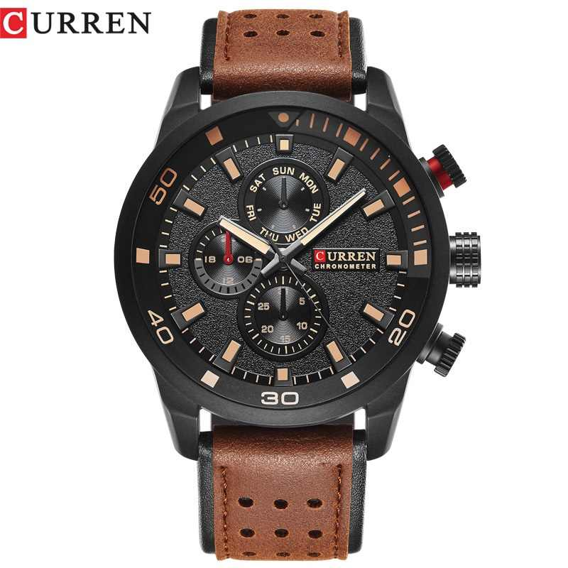 CURREN top marke design neue mode casual kühle sport mann uhr military armee business handgelenk quarz männlichen luxus geschenk uhr