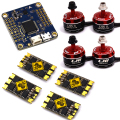 LHI 2205-S Brushless Motor for FPV Multicopter+30A SUPER RACERBEE BLHELI_S Esc+F4 (REVO PIN HEADER EDITION) flight control