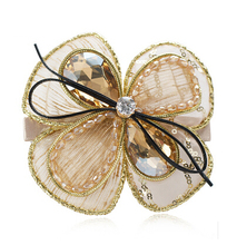 Luxury Handmade Rhinestone Hairpin Crystal Hair Clip Hair Accessory Hairpins