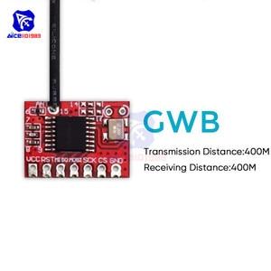 Image 2 - 2.4G 400M émetteur et récepteur sans fil émetteur récepteur Module GWB T400 IIC SPI Interface pour Arduino télécommande jouets