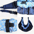 El mejor bebe niño recién nacido cuna bolsa bandolera de anillas portabebés Stretch Wrap frente bolsa