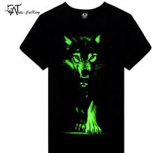 2017 XXXL Tops&Tees Casual Hip Hop Luminous T-shirt Mens Fashion 3D T Shirt Factory Price Men's T-shirts For Men