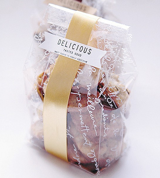 Buy 50pcs clear plastic cookies bags with for Cookie bags for wedding