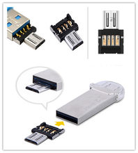 2 Buah 5pin Micro USB OTG Kabel Adaptor Converter Flash Disk U untuk Xiaomi HTC Samsung Huawei Ponsel Tablet(China)
