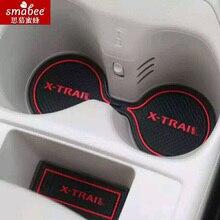 15 Stks/set Voor Nissan X Trail X Trail Xtrail T31 T32 2008   2015 Auto Accessoires 3D Rubber Non Slip Mat Interieur Deur Mat Smabeesetset 2set car