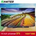 SANITER gelden Lenovo T420 T430 screen hoge score B140HAN01.1 B140HAN01.2 B140HAN01.3 IPS 1920*1080 HD Laptop Lcd-scherm