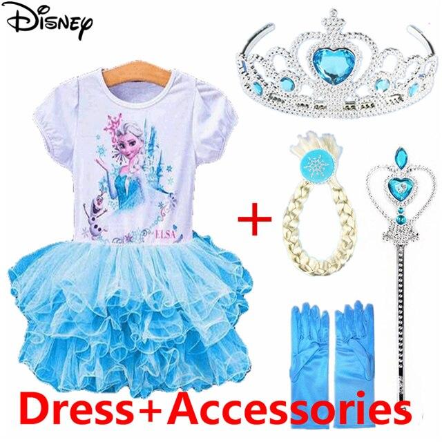 Abiti Hxrstqcodb Principessa Anna Vestito Congelato Disney Da Elsa vNnm80w