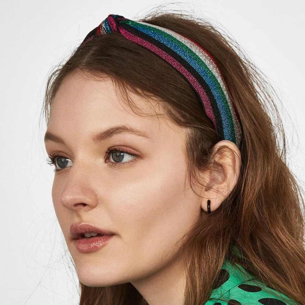 Vedawas 2019 Fashion Velvet Thick Headbands Women Hairband Wide Plastic Hairbands Bohemian Fashion Hair Accessories xg2842