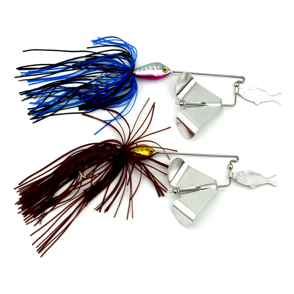 Popular small spinnerbaits buy cheap small spinnerbaits for How to make a fishing spinner