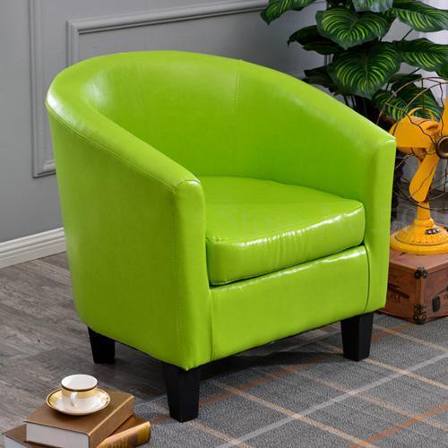 Европейский тканевая одноместная Софа стул интернет кафе кофе небольшой диван гостиничная комната кабинет компьютерный диван стул - Цвет: VIP 25