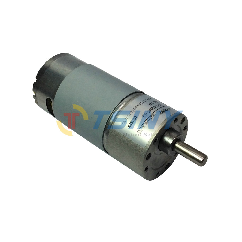 High speed dc gear motor 12v 460rpm low torque diy for High speed dc motors