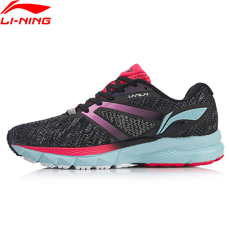 Li Ning Women FURIOUS RIDER Cushion Running Shoes Mono Yarn Stable Breathable LiNing CLOUD Sport Shoes