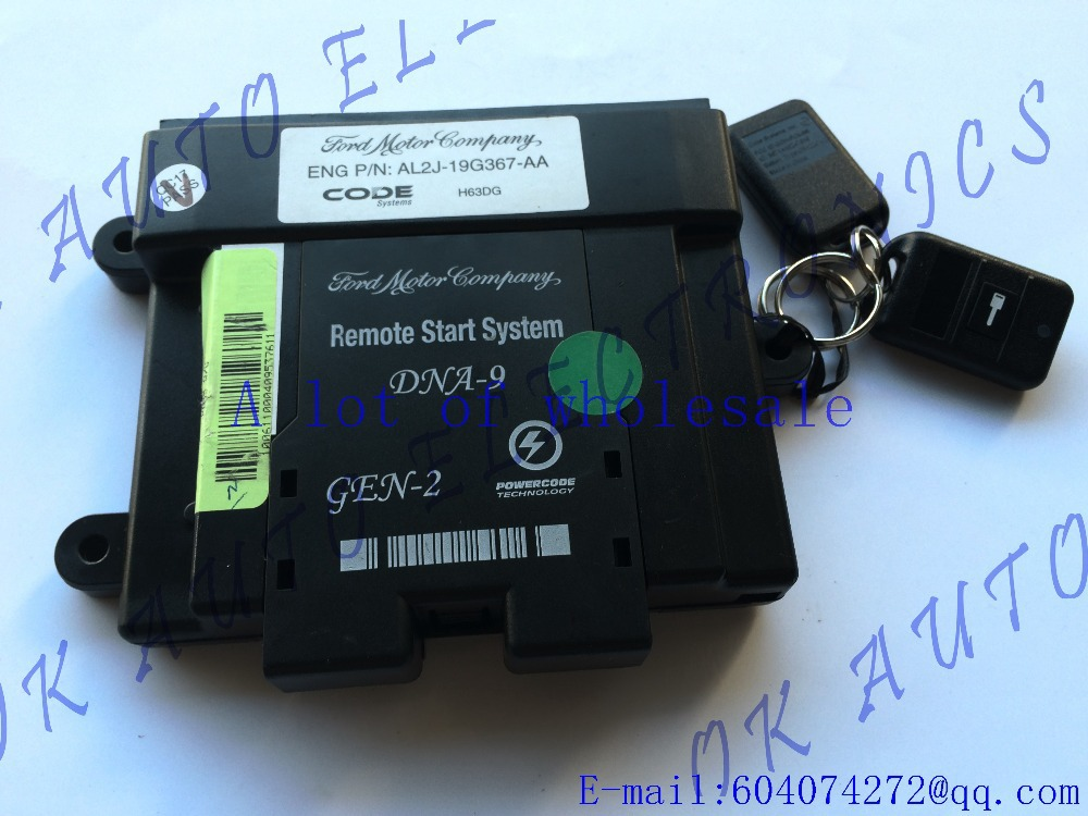 ORIGINAL FORD REMOTE START REMOTE START MODULE FOR Ford Expedition AL2J 19G367 AA