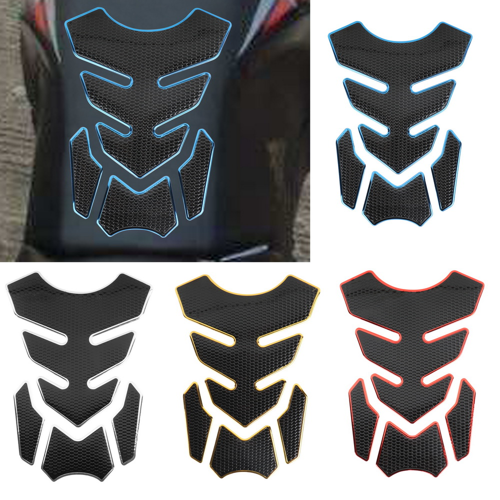 Tank Pad Protector Funny Decoration Sticker Motorcycle Accessories Rubber Motorcycle Stickers Motor Decals For Gas Oil Fuel Tank