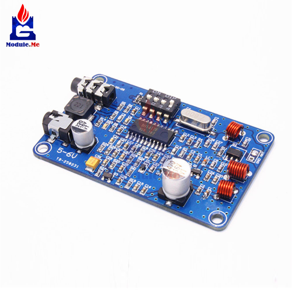 Bh1417 50hz 15000hz Pll Fm Transmitter Digital Two Channel Stereo Circuit 6 Electronic Breadboard Layout Radio Station Phase Locked Loop Transmissor Module 5 6v In Integrated Circuits From