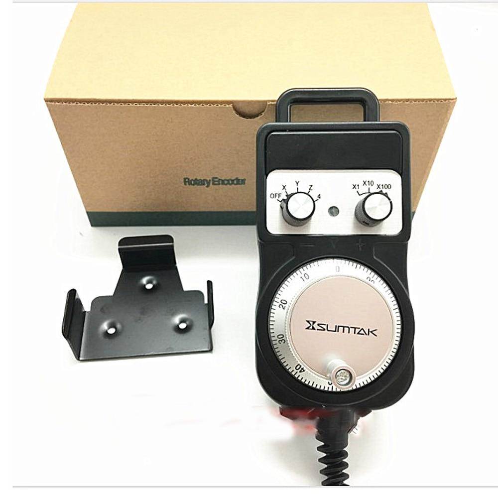 New SUMTAK RT067 MK2 T RT068 MK2 T RT069 MK2 T IP65 hand wheel 4 axis 25ppr 100ppr MPG Manual Pulse Generator 5V 12V