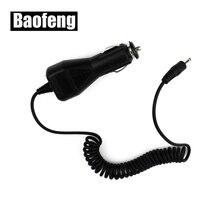 10PCS Baofeng Auto ladegerät Kabel 2,5mm für BAOFENG UV 5R 3800mAh Batterie Walkie Talkie