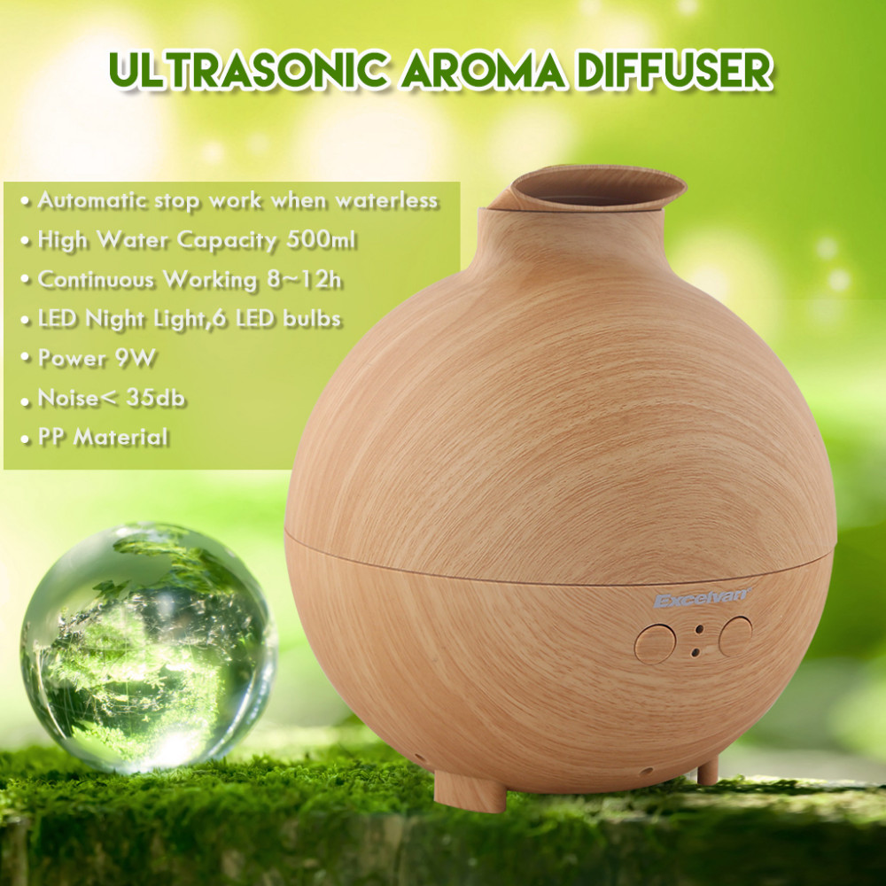 142638201_1_Excelvan Essential Oil Aroma Diffuser Ultrasonic Humidifier Air Mist Aromatherapy Purifier Woodgrain Model 20006A EU