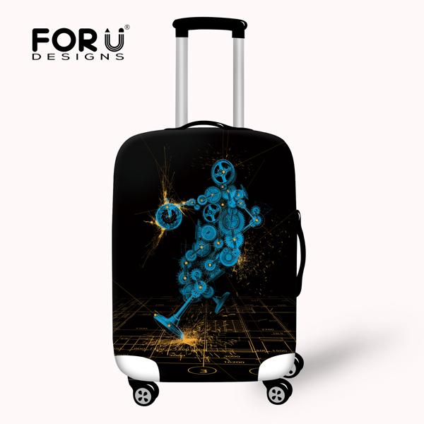 New fashion elastic acessórios de viagem à prova d' água proteger cobertura de bagagem em aplicar para 18/20/22/24/26/28/30 polegada tampa mala de viagem