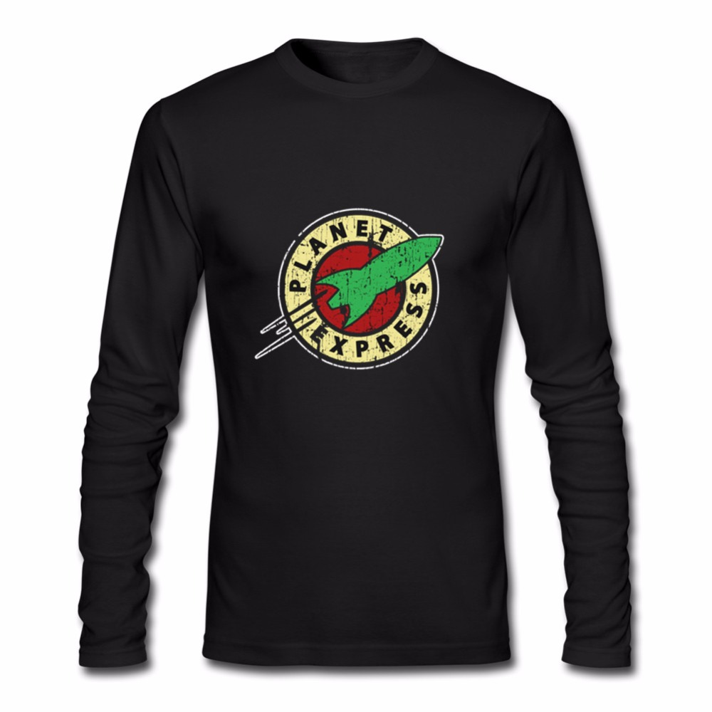 Drop shipping planet express men t shirt long sleeve tops rock hip drop shipping planet express men t shirt long sleeve tops rock hip hop clothing fashion funny new vintage planet express in t shirts from mens clothing biocorpaavc Gallery
