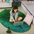 Kinder kreative grünes blatt carept für wohnzimmer anlage kriechen TEPPICH schlafzimmer küche rutschfeste matte fußmatte teppich pet hunde pad Teppich    -