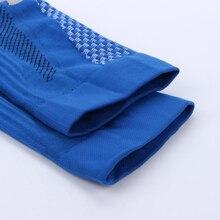 GOAEOS 1 Pair Sport Socks For Running Football Soccer Socks Elastic Unisex Leg Support Stretch Outdoor Sport Long Socks CA0008
