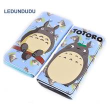 Anime My Neighbor Totoro Wallet Cosplay Accessories Coin Purse Phone bag Women Clutch PU Money Clip Cartoon Handbags(China)