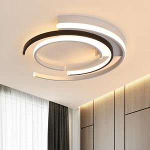 Image 5 - Lampadario di Illuminazione per soggiorno camera Da Letto AC85 265V Moderna Lampadari Lustre Rotondo di Alluminio Lampadario A Bracci del Soffitto