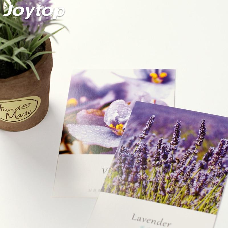 Joytop 30 pcs/lot Vintage Retro Europe Building postcards Paris Tower romantic Beautiful flower in love language of flowers